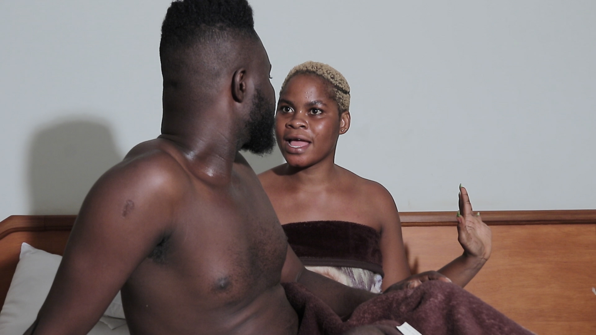 How Can A Ghanaian Lady Begging For More S£x From Her Boyfriend [WATCH]