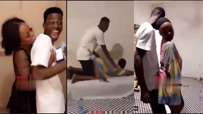 """Lovey-Dovey moment for Sammy of Date Rush fame as he secures himself another """"Nana Ama"""" [Video]"""