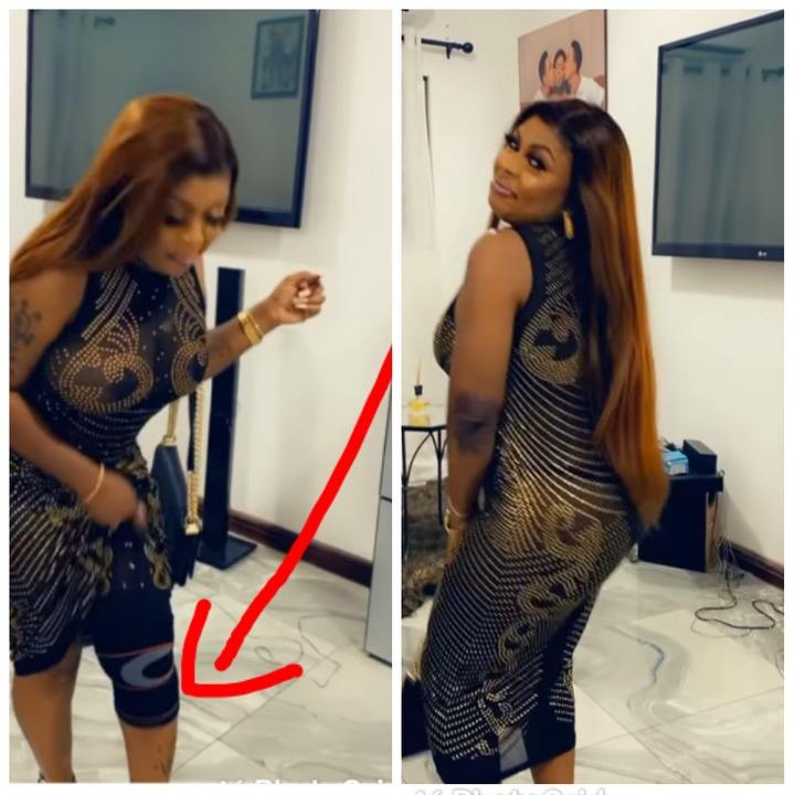 Is Afia Schwarzenegger Now A Footballer? Check Out What Was Spotted On Her Left Leg [WATCH]