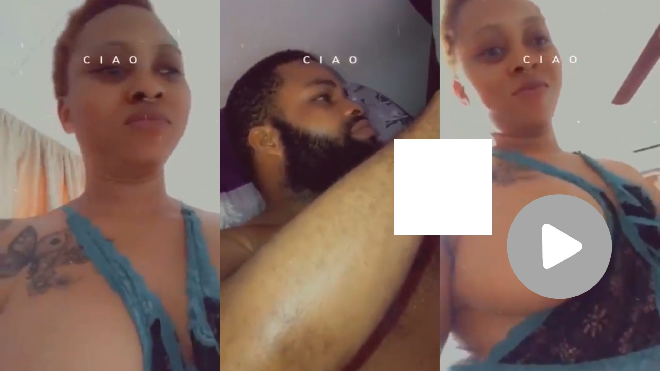 Watch How A Beautiful Lady Was Begging His Man To Do It With Her (Video)
