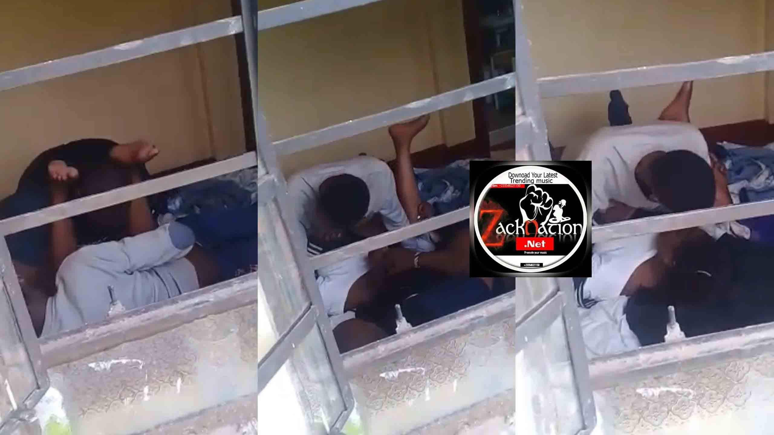 Watch The University Student Doing 3some In A Hostel (Video)