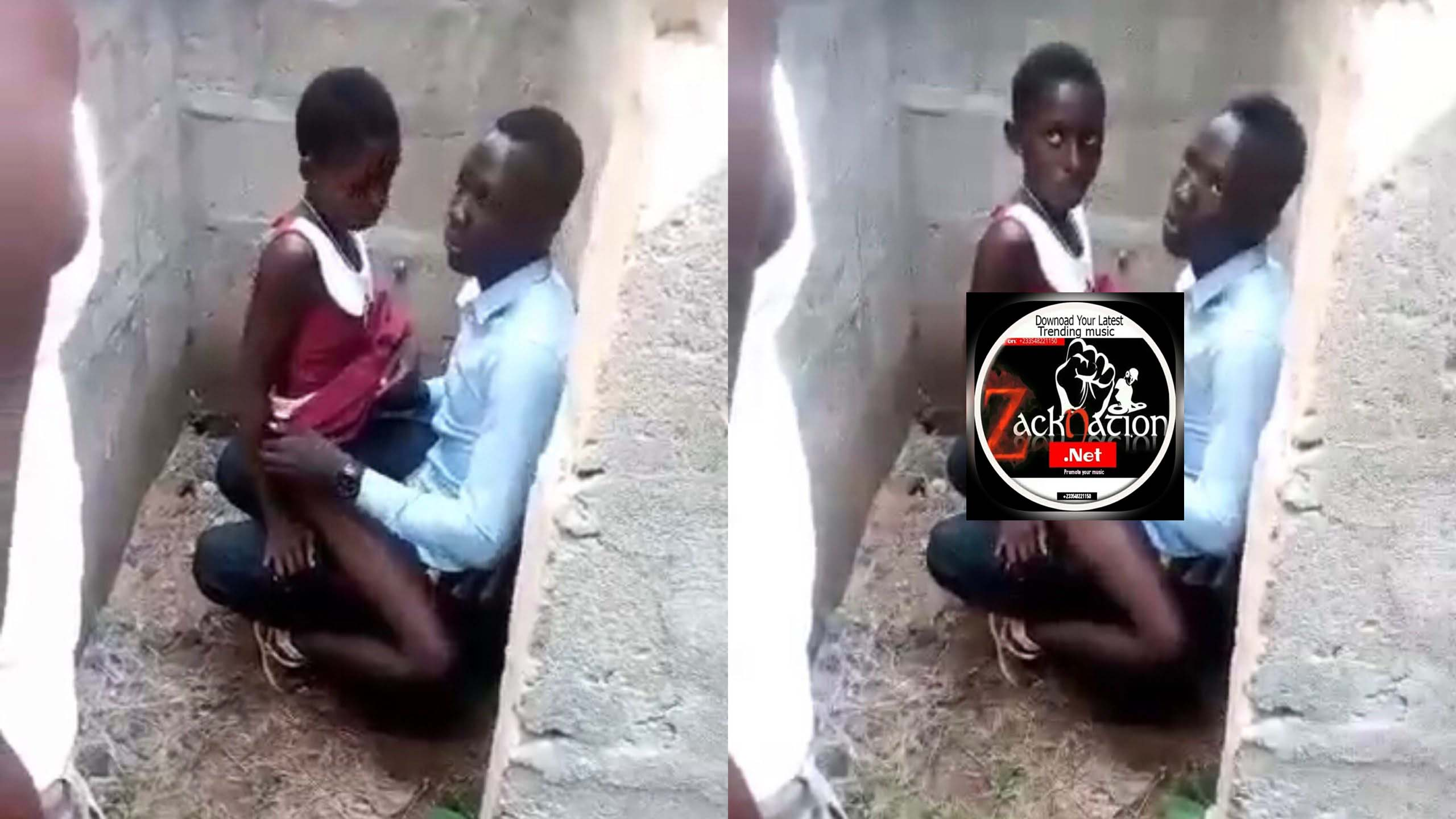 27yr+ Man Caught With Little 8yr+ Girl In An Uncomplicated Building (Watch)