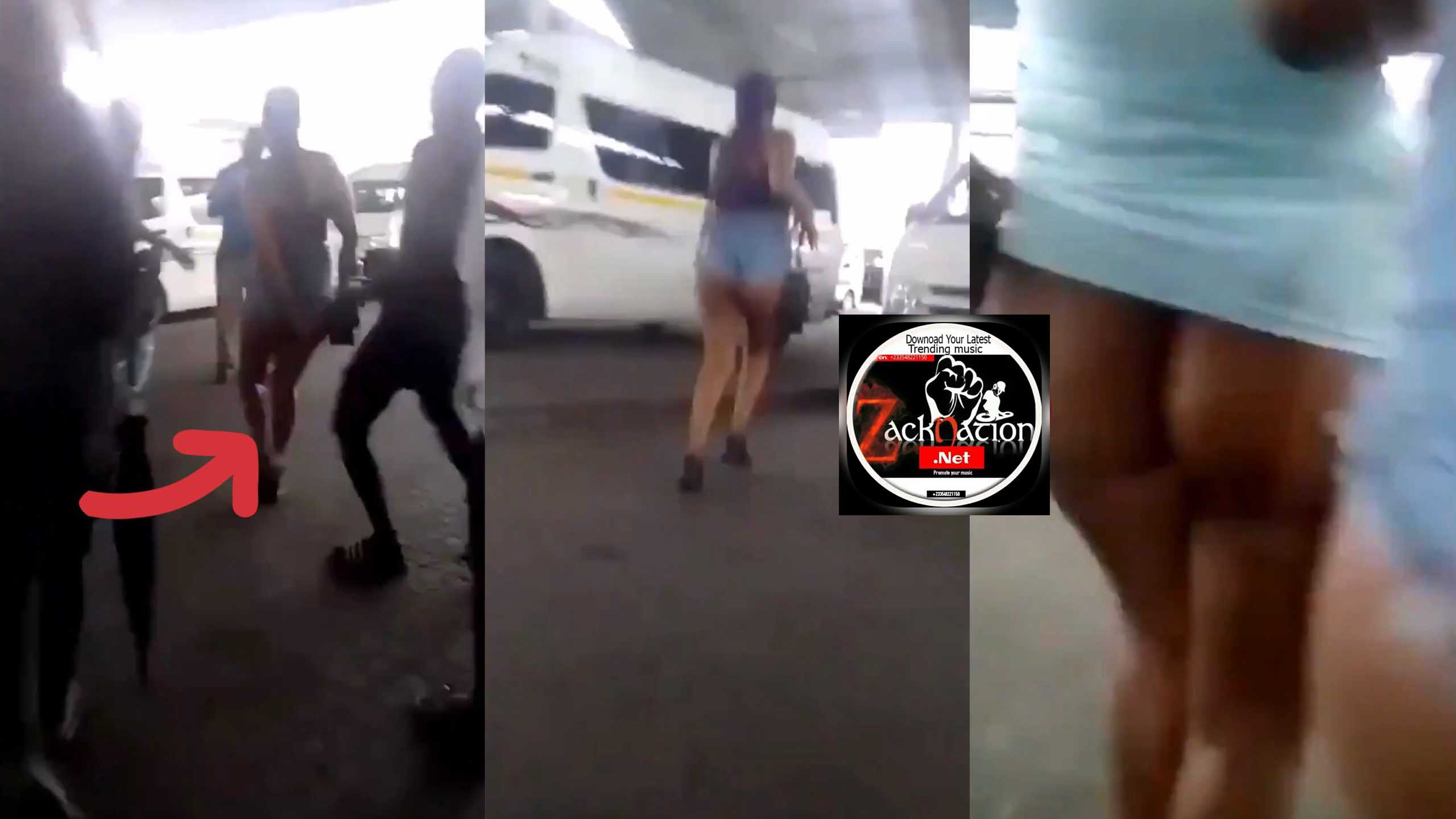 The 7 Men Who Were Harassing 2 ladies In Public Video Trending No.1 (Watch)