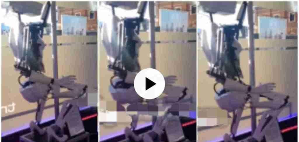 """Video of Robot """"twerking"""" in heels causes stir online [Watch]"""