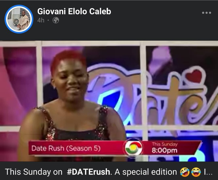 Abena Korkor To Make Appearance On Special Edition Of Date Rush This Sunday [WATCH]