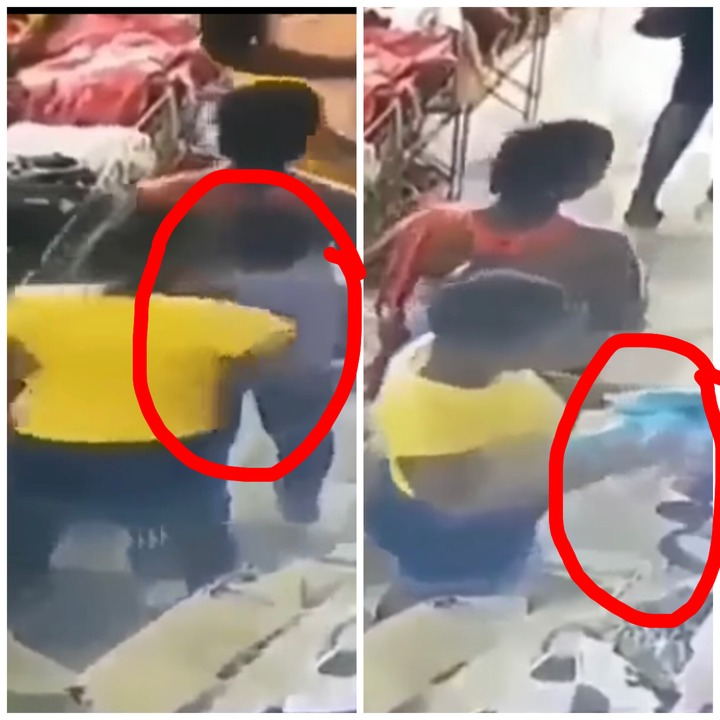 Women Caught On CCTV Camera Stealing In A Boutique- Video Causing Massive Stir Online