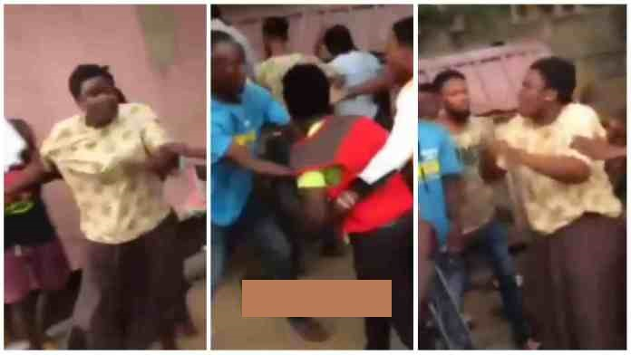 Lady fights movie producer for refusing to give her a role after sleeping with her [Watch Video]