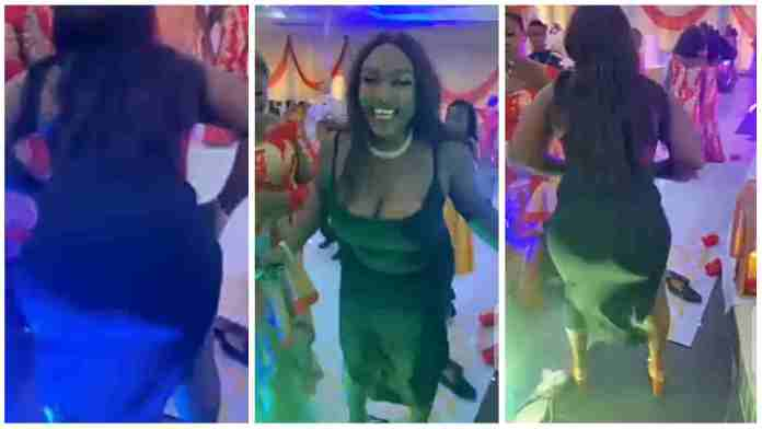 Lady crashes wedding with her seductive dance moves; video drops [Watch]