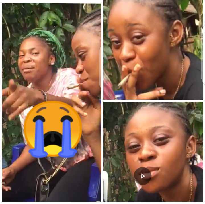 Ghanaians Cry Out Over What Female Students Were Spotted Doing Inside The Bush [Watch Video]