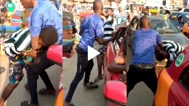 Two Best Friend Fight seriously Over Lady [WATCH]