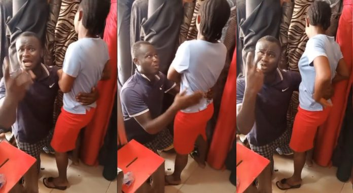 I love you Naomi – Man begs for love in public after 2-years of proposing [video]