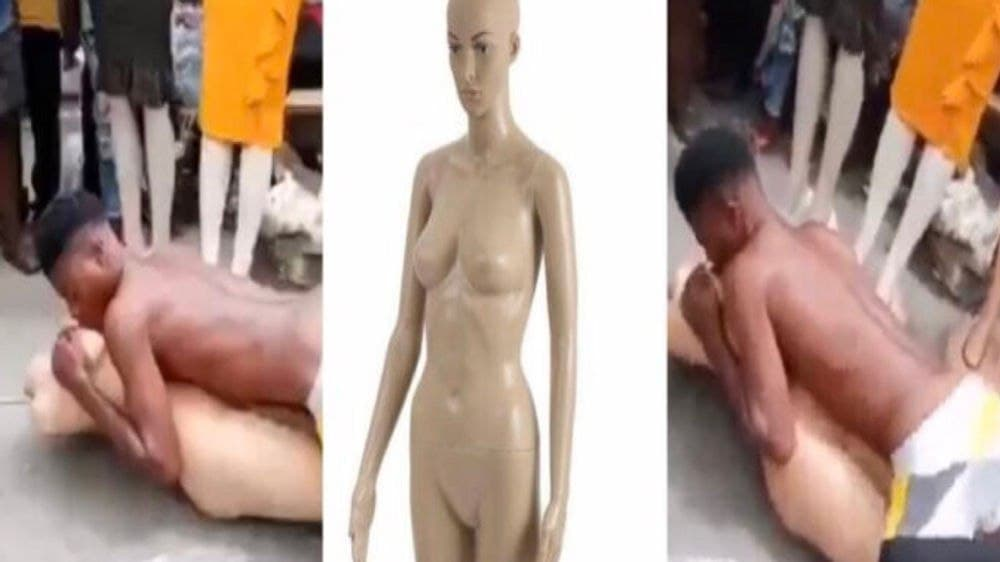 A Viral Video of Man Demonstrate His Ch0pping Skills On Mannequin Cause St!r [Watch Now]