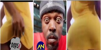 Slay-queen-exposes-bushy-'toto-while-twerking-to-Kwaw-Kese-song