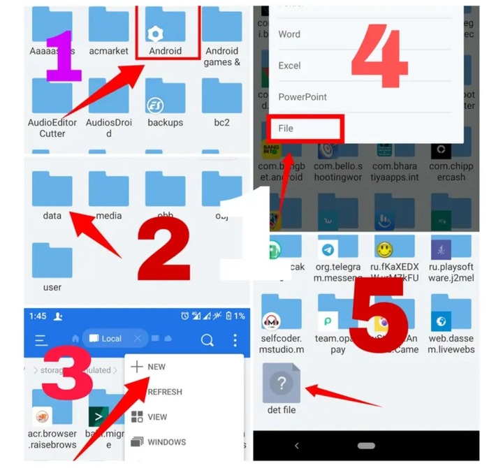 How To Expand Your Memory Card To 128GB Using Your Android Phone And Es Explorer Application